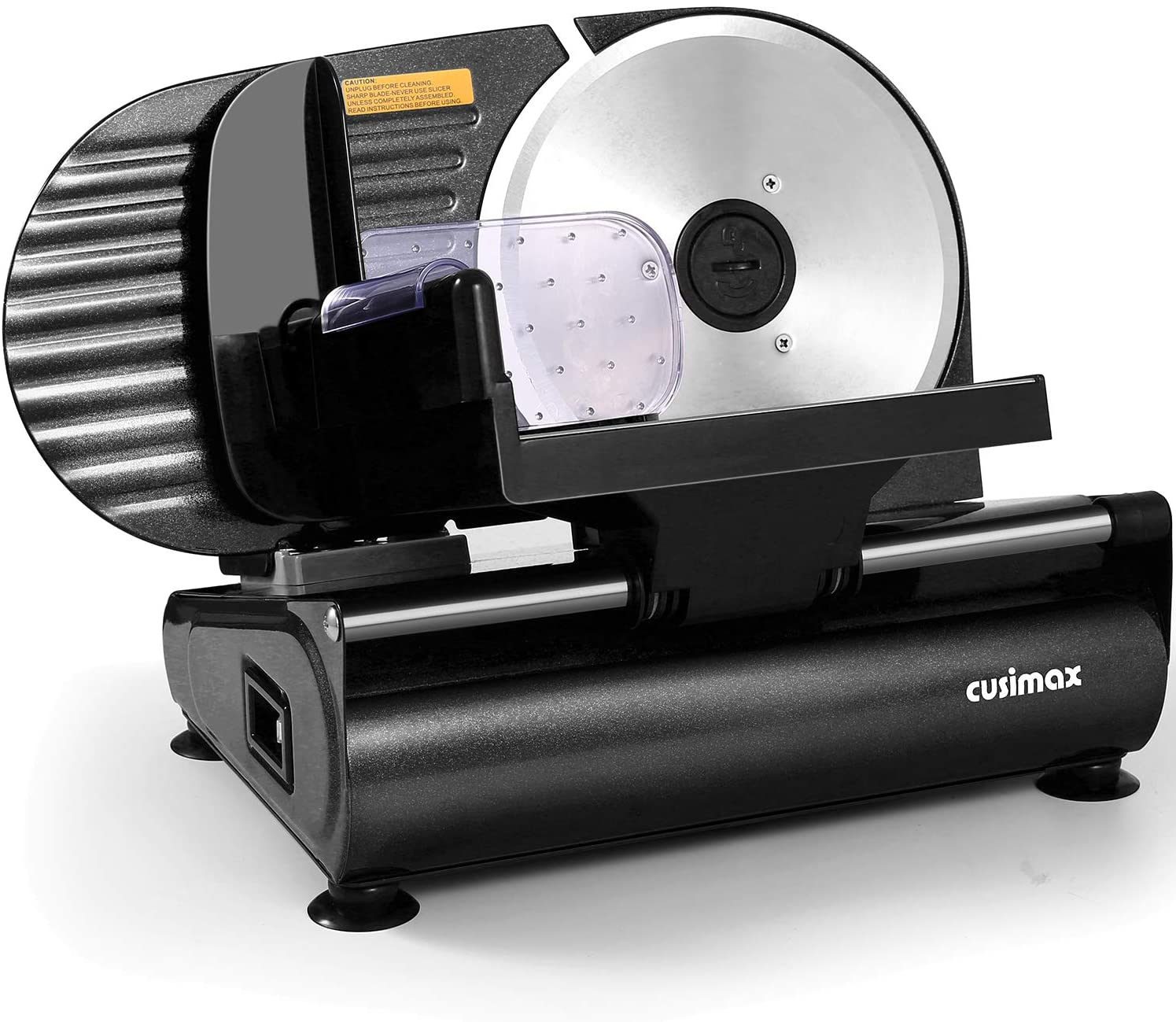 CUSIMAX Electric Meat Slicer with 7.5-Inch Blade
