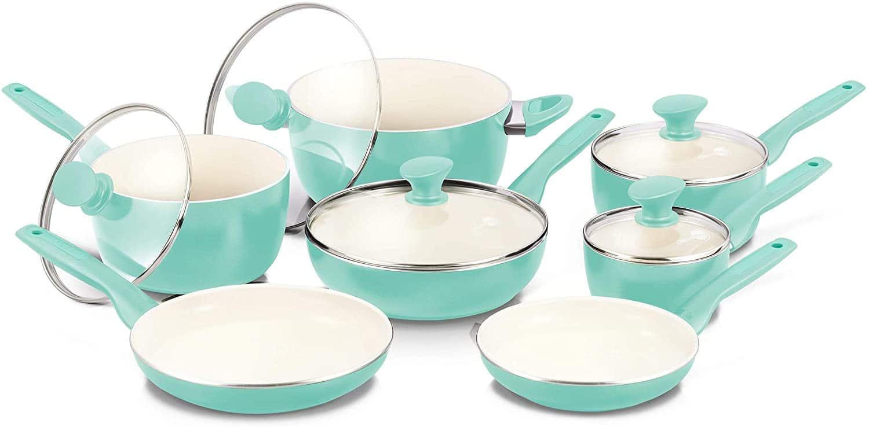 GreenPan Rio Ceramic Nonstick Cookware Set