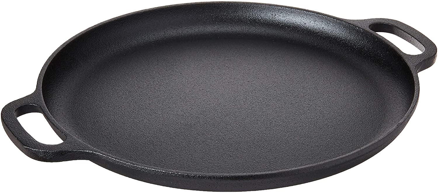 Home Complete 14 Inch Cast iron Skillet