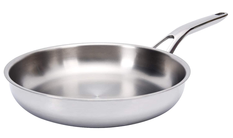 Huftgold Tri-Ply Titanium Fry Pan