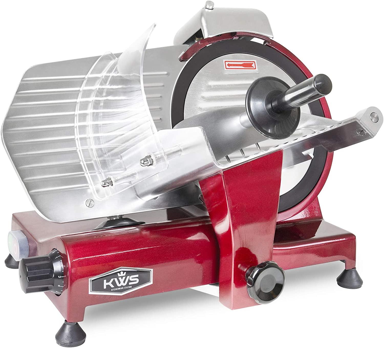 KWS MS-10XT Premium Electric Meat Slicer