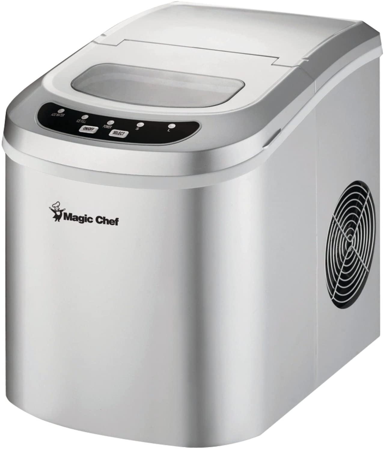 Magic Chef 27-lb Portable Countertop Ice Maker