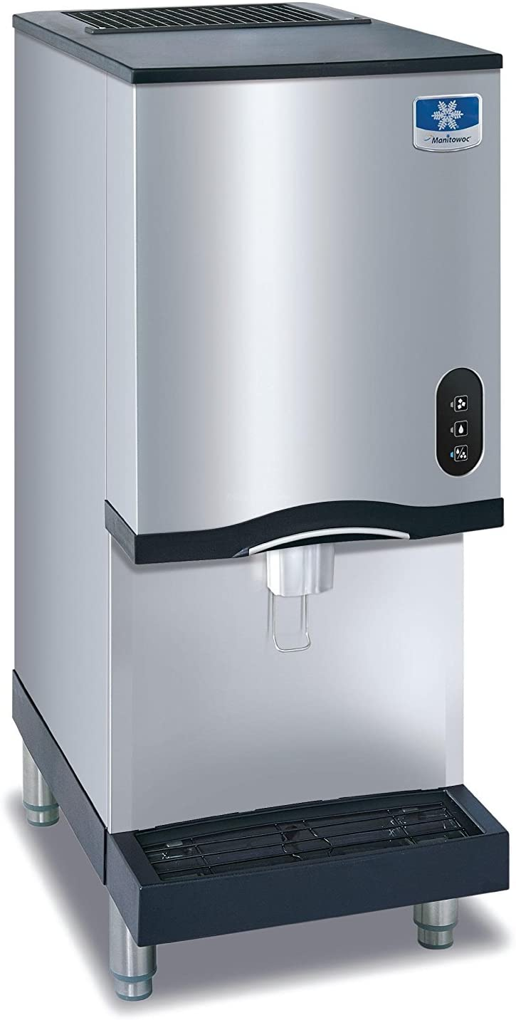 Manitowoc CNF-0201A-L Countertop Nugget Ice Maker and Water Dispenser