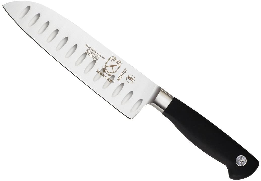 Mercer Culinary Genesis Forged 7-inch Santoku Knife