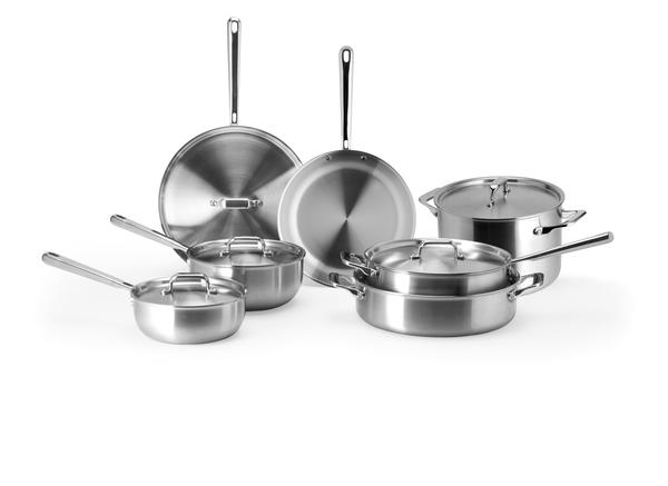 Misen 5-ply Stainless Steel Cookware Set
