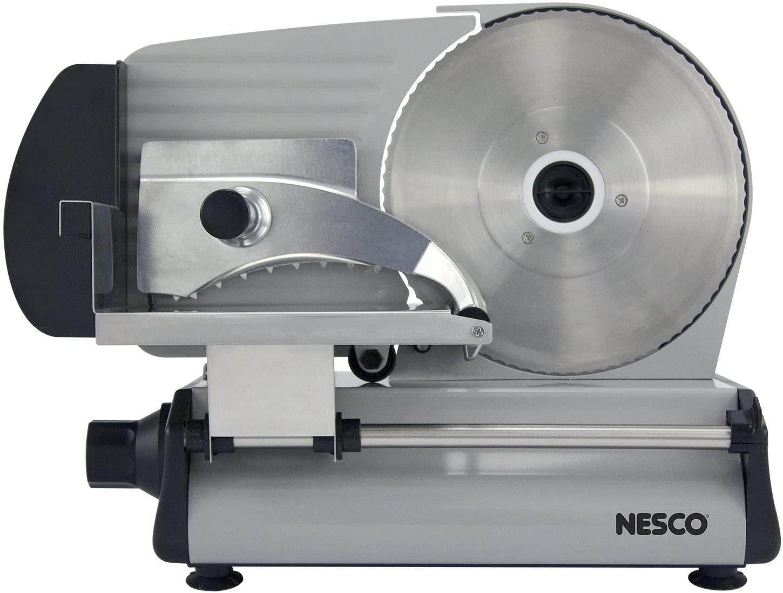 Nesco 8.7-Inch Stainless Steel Food Slicer
