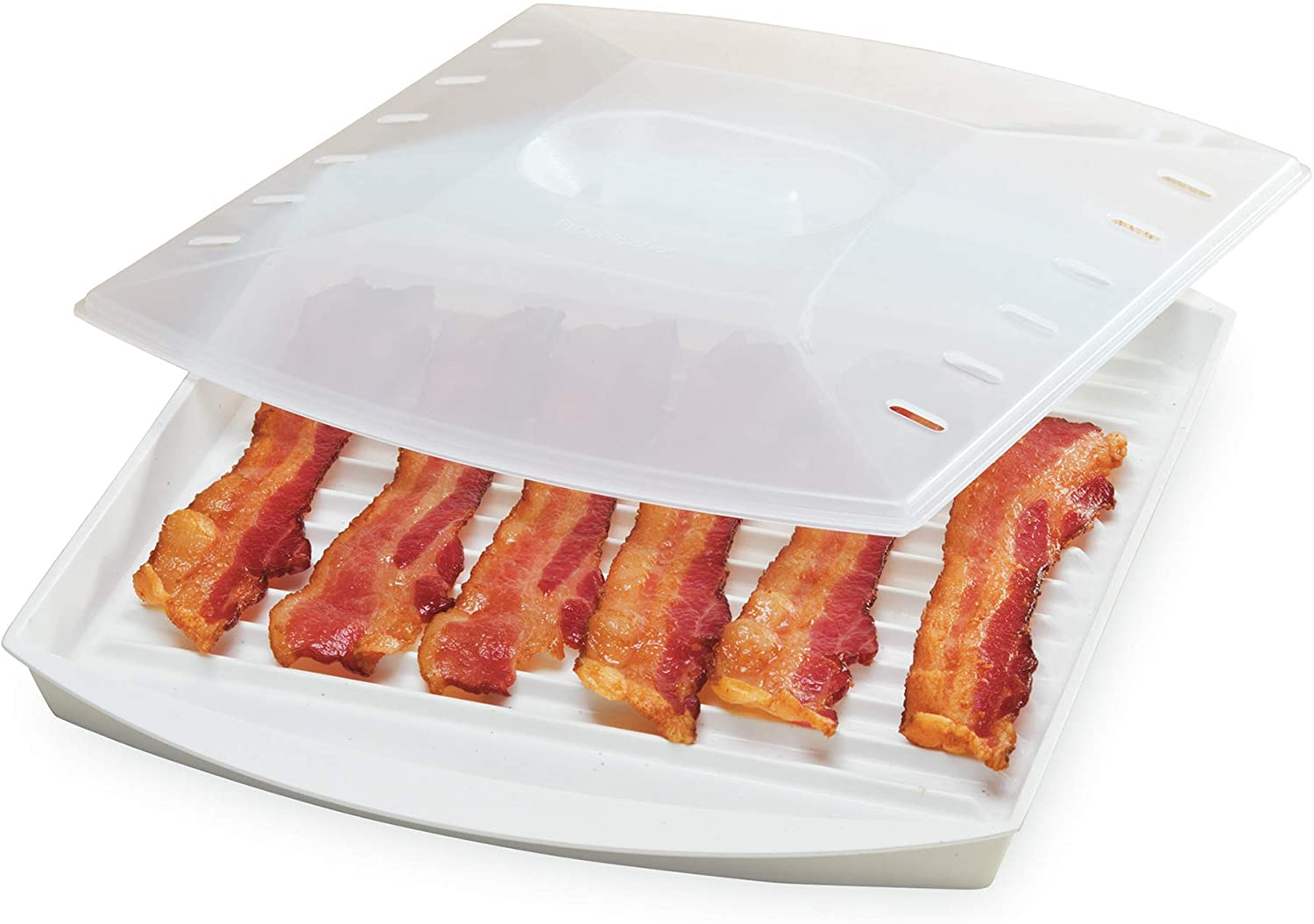 PrepSolutions Microwavable Bacon Grill