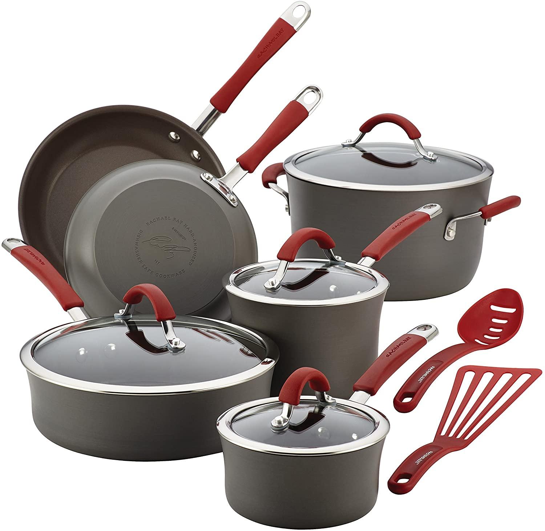 Rachael Ray Cucina Hard-anodized Cookware Set