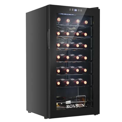 RovSun Freestanding 28-bottle Wine Cooler (Best value)