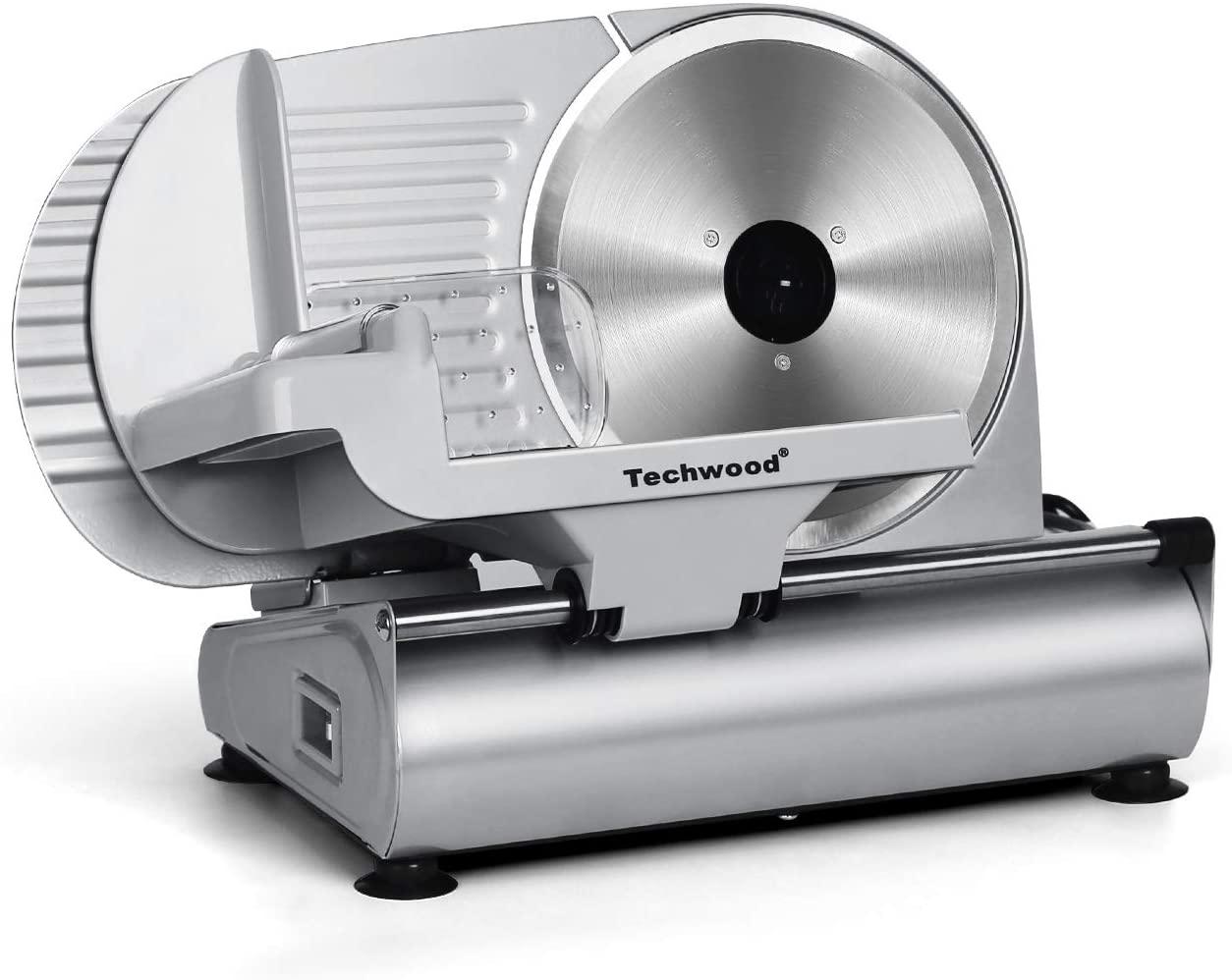 Techwood 9-Inch Deli Food Slicer