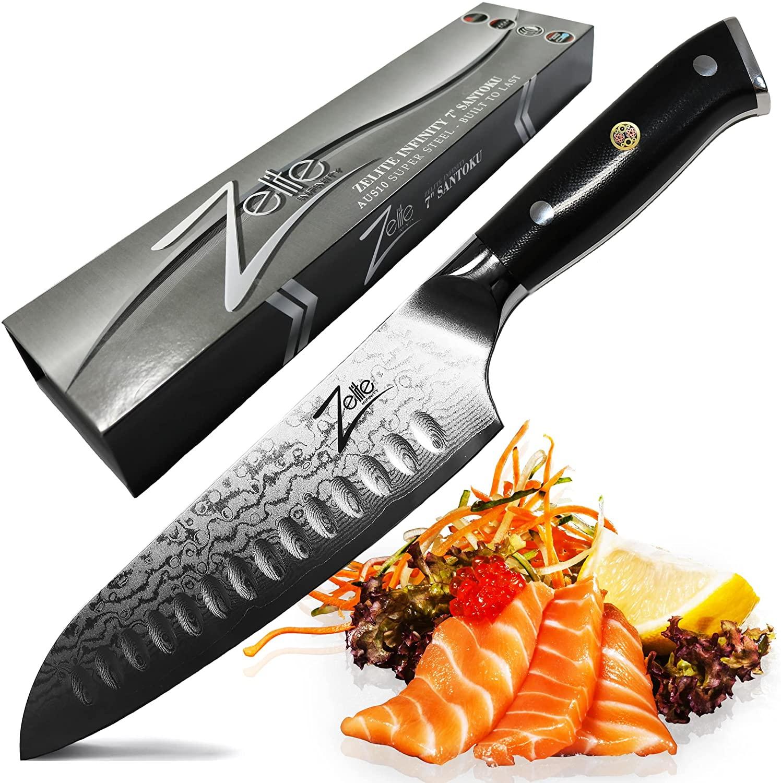 Zelite Infinity Super Steel Santoku Knife