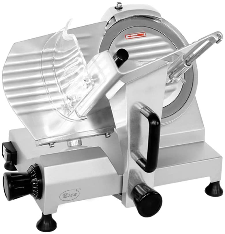 Zica 10-Inch Carbon Steel Meat Slicer