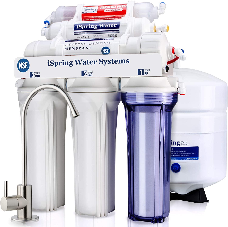 iSpring RCC7AK Six-Stage Drinking Water Filter System
