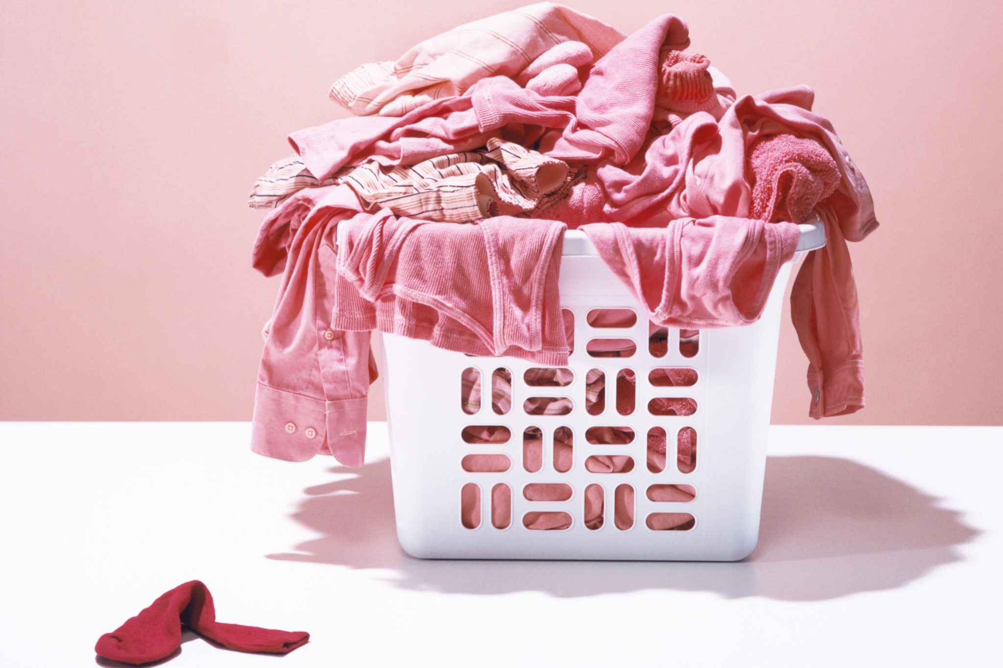 How to get red dye out of clothes