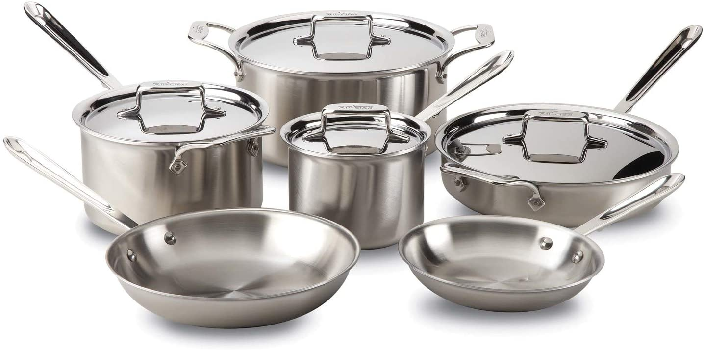 All Clad D5 Stainless Steel Cookware Set