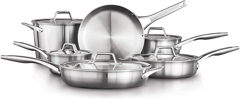 Calphalon Premier 11-Piece Cookware Set