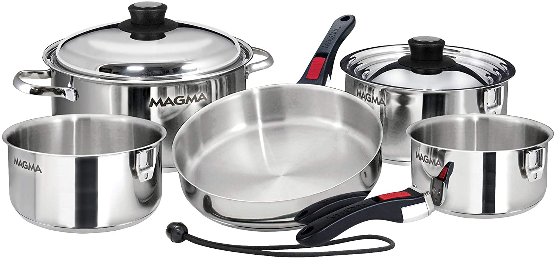 Magma 10 Piece Nesting Cookware Set