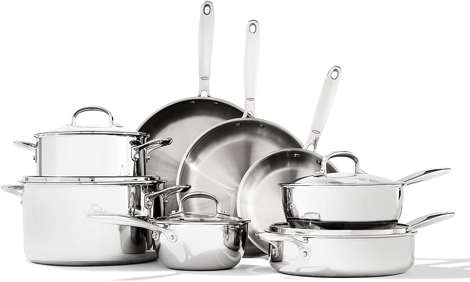 OXO Stainless Steel Cookware Nonstick Version