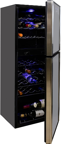Koolatron 45-bottle Dual-zone Wine Cooler